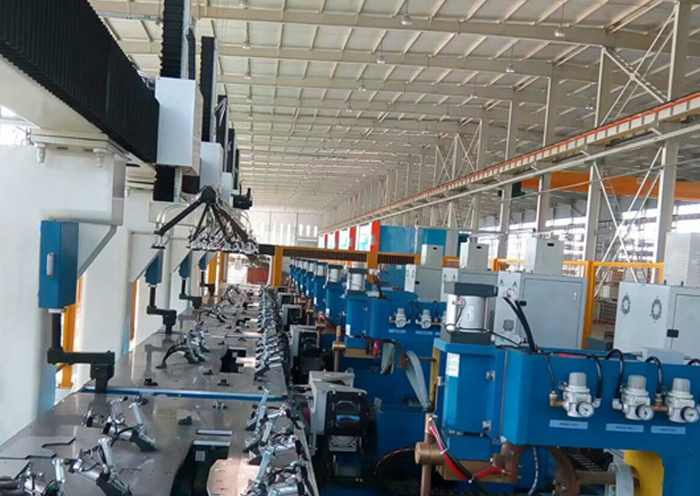 上海大众汽车补订板流水线点焊机
