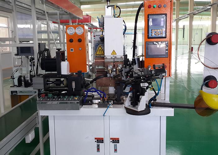淄博电机厂马达转子多点焊接机