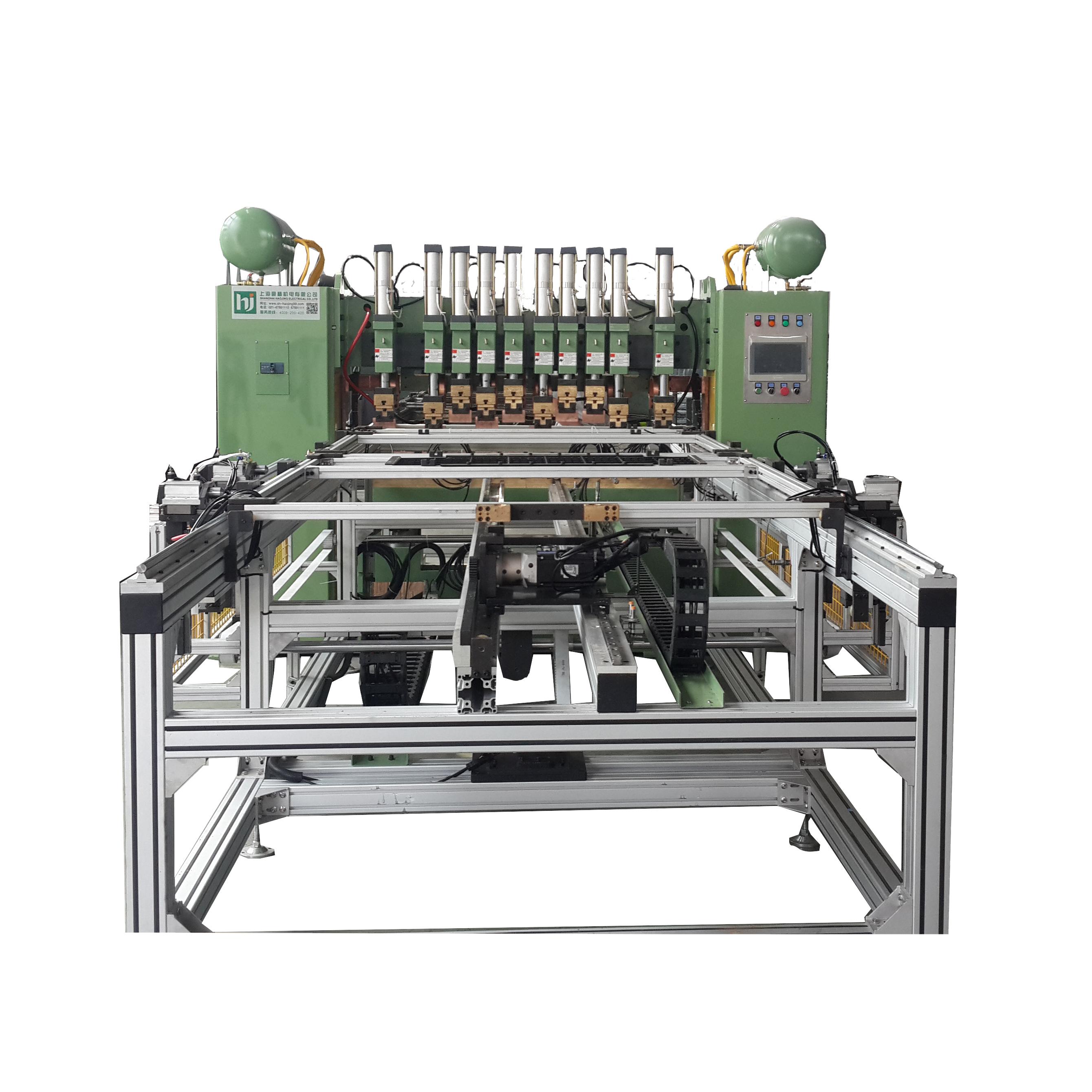 (仓储笼)龙门双网模交替排焊机