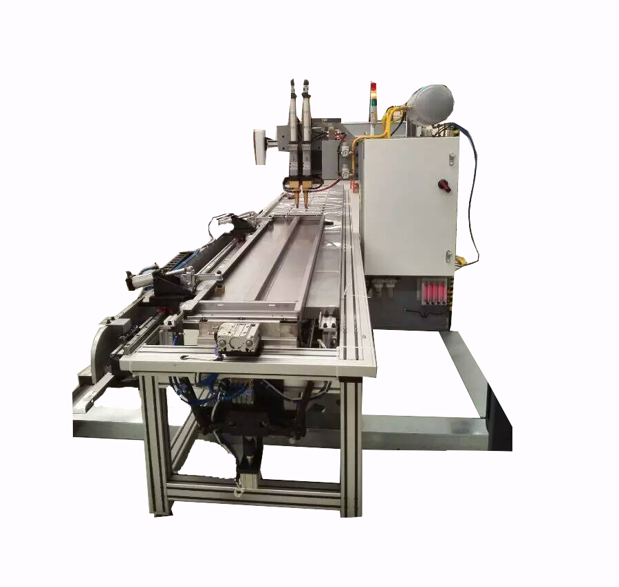 电梯门板自动送料中频点焊机