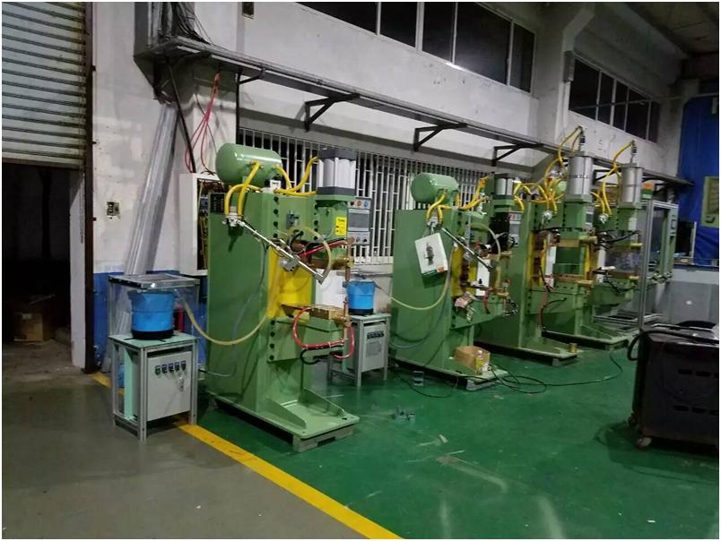 青岛铁路厂铝合金板 不锈钢板中频点焊机