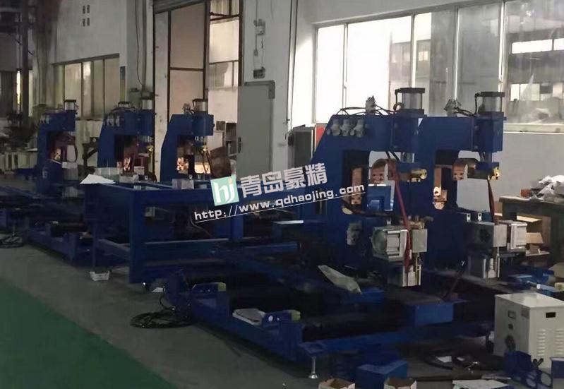 XY轴自动点焊专机在上海大众供应商车间
