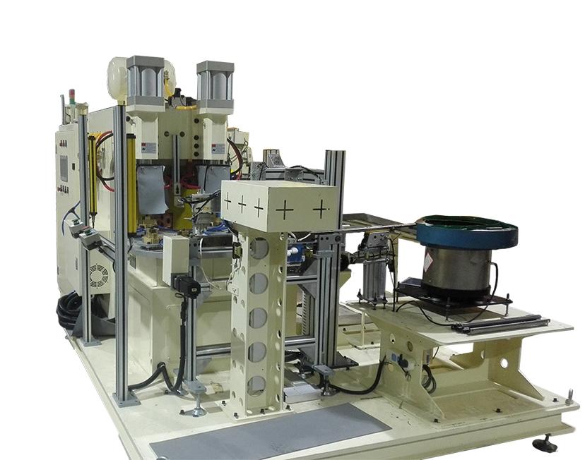 汽车座椅滑轨自动转盘点凸焊机